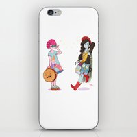 Bubblegum And Marceline iPhone & iPod Skin