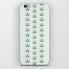 Mint Blossoms iPhone & iPod Skin
