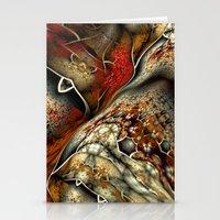 Glynnia Fractal Art Stationery Cards