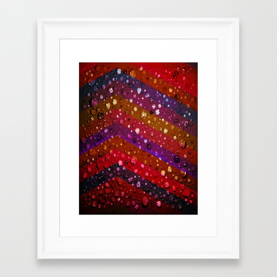 All The Glitters Is Rock Framed Art Print