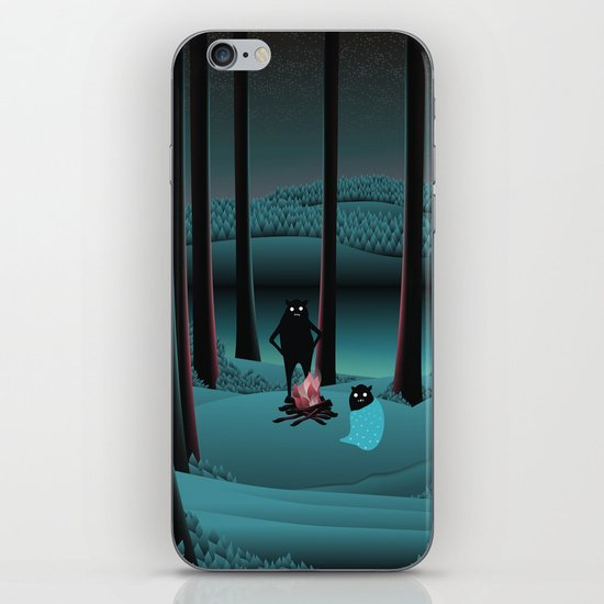 Long Talks Short Nights iPhone & iPod Skin