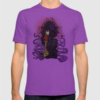 Wicked Queen Nouveau Mens Fitted Tee Ultraviolet SMALL
