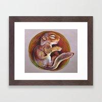 Sciuradae Framed Art Print