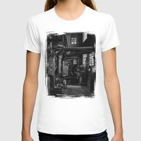 Old Factory 2 Womens Fitted Tee White SMALL
