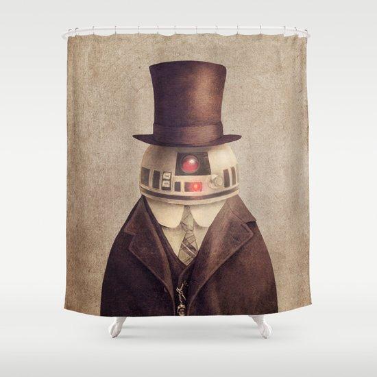 Duke R2 Shower Curtain