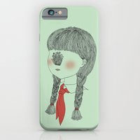 iPhone & iPod Case featuring Young Pioneer - Golden Needle Mushroom by Jiaxi Huang