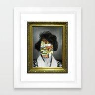 Gala Mit Gipskopf Framed Art Print
