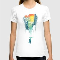 rain T-shirts featuring I Want My Blue Sky by Picomodi