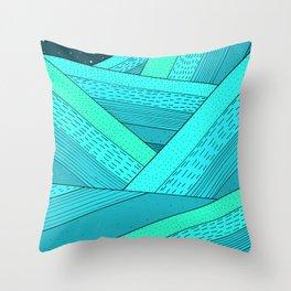 Throw Pillow - Ocean Waves -  Steve Wade ( Swade)