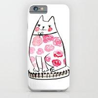 Flower Cat  iPhone 6 Slim Case