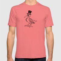 Gullie from Monterey Buddies Mens Fitted Tee Pomegranate SMALL