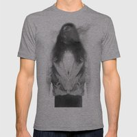 Faceless Mens Fitted Tee Athletic Grey SMALL