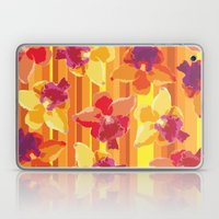 Fluor Flora - Arancio Laptop & iPad Skin