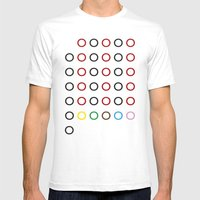 147 Mens Fitted Tee White SMALL