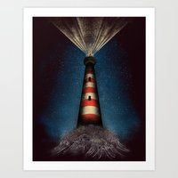 I know he will come ... Art Print