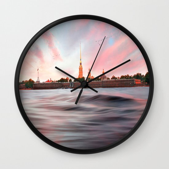 Peter & Paul Fortress Wall Clock
