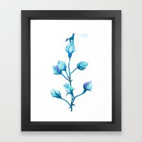Baby Blue #2 Framed Art Print