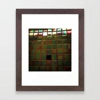 City Scales Framed Art Print