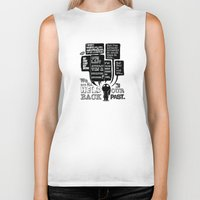 We are held back by our past.... Biker Tank