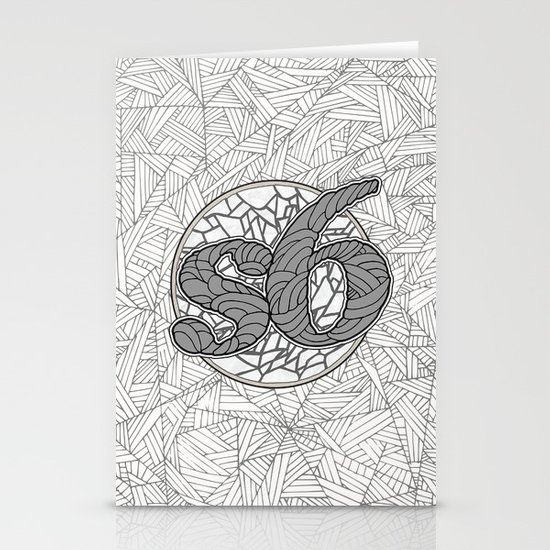 s6 Tee 1 Stationery Card