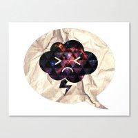 Cloudlet mood Canvas Print
