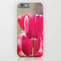 iPhone & iPod Case featuring Red Tulips by Erin Johnson