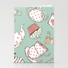 Tea And Cupcakes #2 Stationery Cards