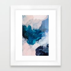 Palette No. Twenty Five Framed Art Print