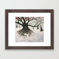 autumnal winter Framed Art Print