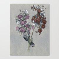Perched. Canvas Print
