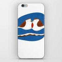 Robin X-mas iPhone & iPod Skin