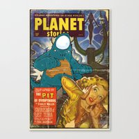 URBNPOP PLANET STORIES Canvas Print