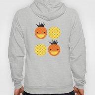 Dotty Pineapples II - Si… Hoody