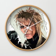 D. Bowie, inside the labyrinth Wall Clock