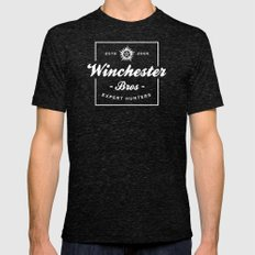 Winchester Bros - Expert Hunters Mens Fitted Tee Tri-Black SMALL
