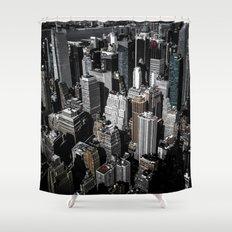 Boxes of Manhattan Shower Curtain