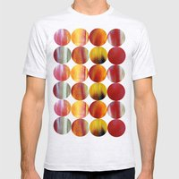nature's abstract Mens Fitted Tee Ash Grey SMALL