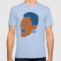 Jeremy Lin — Linsanity Mens Fitted Tee Athletic Blue SMALL