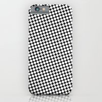 iPhone & iPod Case featuring WHITE DOT by Mr.DOT