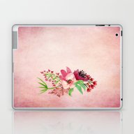 Purple Watercolor Bouque… Laptop & iPad Skin