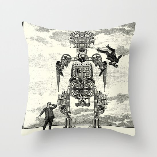 Doctor Jūzō Throw Pillow