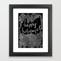 H.h. Framed Art Print