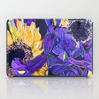 Sunflower & Iris iPad Case