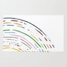 Rainbow Part Disc Rug