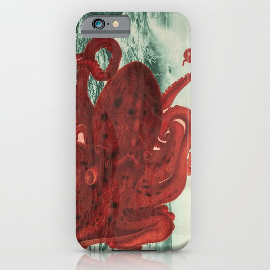 Octopus Beach iPhone & iPod Case