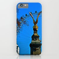iPhone & iPod Case featuring Eagle Eye by JuliHami