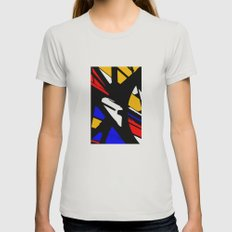Speed Womens Fitted Tee Silver SMALL