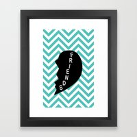 Friends Framed Art Print