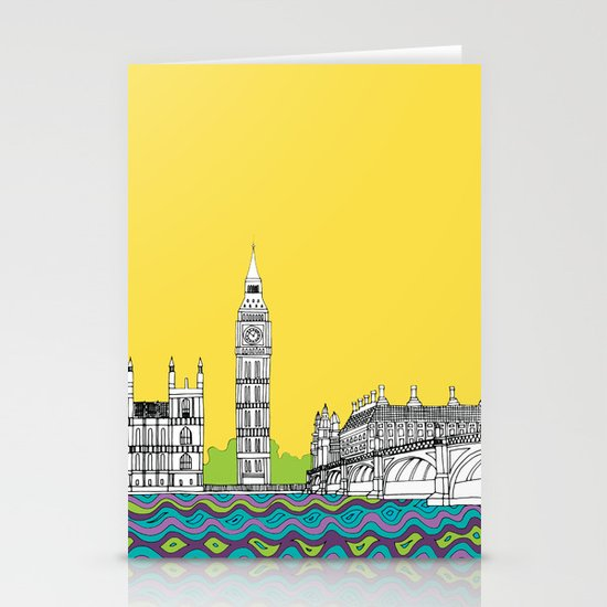 London Town Stationery Card