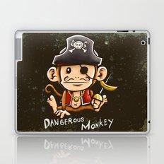 Dangerous Monkey! Laptop & iPad Skin